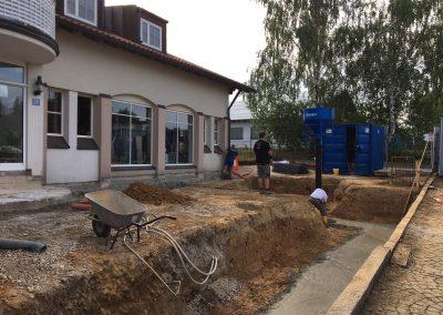 Aktuelle Baustelle