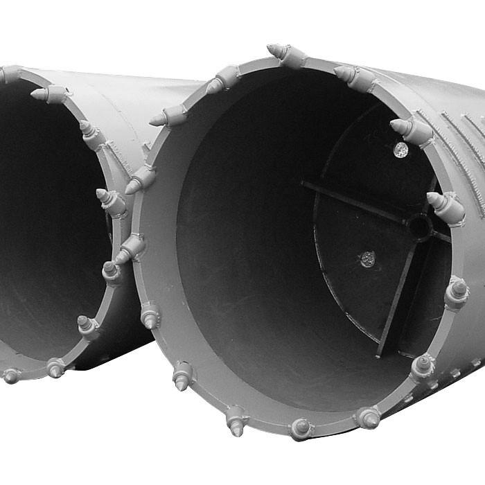 Kernbohrrohr grau 1