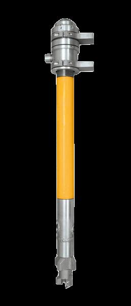 Doppel HDI-Bohrsysteme mit Drehkopf und hydraulischem Spannfutter (D 76,1 - D 114,3)